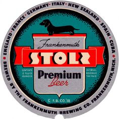Stoli_Label.png (621×621) #beer #dog #design #label #seal #vintage #type #typography