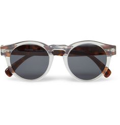 Illesteva Leonard Acetate Sunglasses | MR PORTER #glasses #accessories #design #sunglasses #illesteva #fashion #circular