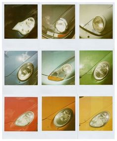 FFFFOUND! #porche #color #retro #cars #vintage #polaroids