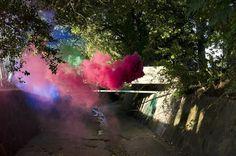 dreamlike scenes by duVarret #color #smoke #dream