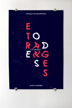 Poster Design Inspiration #graphic design #poster