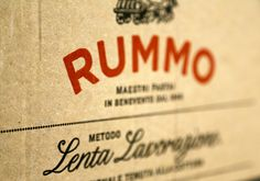Rummo Italian pasta packaging design #italian #pasta #packaging