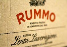 Rummo Italian pasta packaging design #italian #pasta #packaging