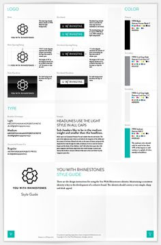 You With Rhinestones You With Rhinestones #branding #identity #style guide