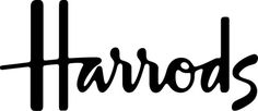 Harrods Logotype #logotype #lettering #script #drawn #handmade #hand