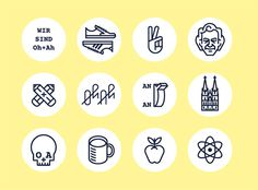 OH+AH - Timo Meyer - Illustration #icon #line #picto #symbol #sign #pictogram