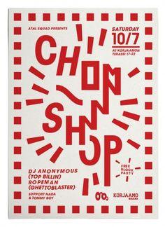 Chop Shop : Martin Martonen #finland #typography