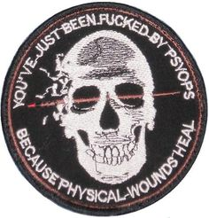 FUCKED #patch #psyops #fucked #military