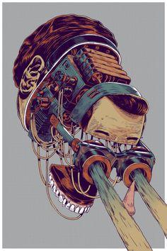 DeadFix #cross #deadfix #head #brain #section