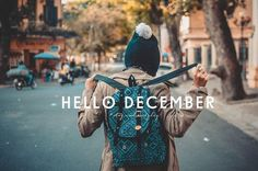 Offers late December #december #winter #typography