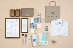 PACT on Behance #stationary #branding