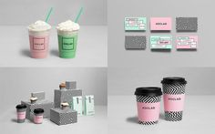 Xoclad by Anagrama #pattern #anagrama #packaging #icecream #brand #coffee #colour #new