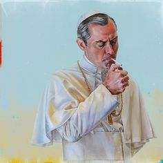 The Young Pope by Denis Gonchar - Home of the Alternative Movie Poster -AMP-