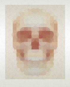 RAFA JENN - Art & Design, Page 2 #screen #print #skull