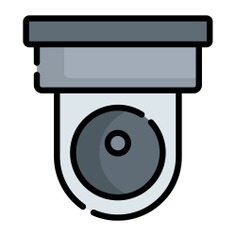 See more icon inspiration related to cctv, security camera, security system, surveillance, video camera, circuit, recording, electronics, secure, wifi, security, camera, technology and video on Flaticon.