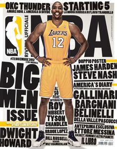 Rivista NBA | Covers 2012 13 by Francesco Poroli #typography #cover #editorial #sport #nba