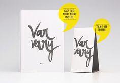Varvary on Behance #menu