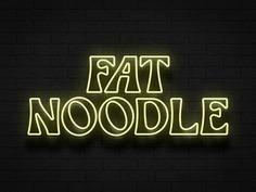 Fat Noodle Neon Concept