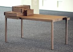 Video: Listen to your hands Table by Lee Sanghyeok #furniture #design #table