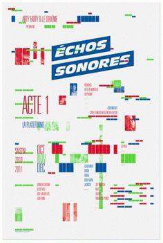 Superscript² / Échos Sonores #music #poster