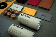 Gropes | Identity Designed #identity #stationery