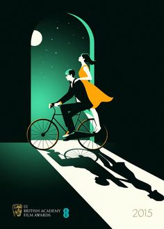 Malika Favre - Handsome Frank Illustration Agency #bafta #favre #malika #theoryofeverything #poster