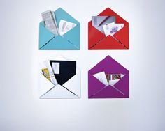 Goodwin + Goodwin Design Studio :: Evelope Mail Holder #design