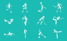 EIGA adidas Iconography #icons #icondesign #iconography #iconset #sports #sport #athletic #pictogram #picto #symbol