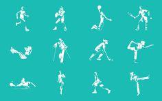 EIGA adidas Iconography #icons #icondesign #iconography #iconset #sports #sport #athletic #pictogram #picto #symbol