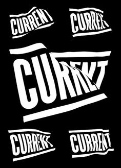 Current TV – Chris Sherron #identity #branding #typography