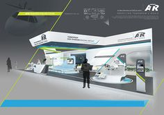 ATR@AIRSHOW on Behance #diagonal #showroom #set