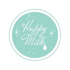 Happy Milk (logo et blog) : Audrey Evrard AKA Mocosa #milk #happy