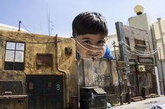 Highly Realistic Miniature Street – Fubiz™ #miniature #house #art #street