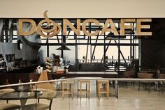 Artistic Cafe – surrealistic interior in Don Caf\\xc3\\xa9 House