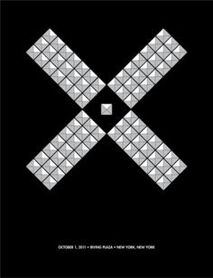 GigPosters.com - X #punk #gallo #print #screen #poster #music #minimalist #david