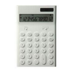 Calculator - medium | ±0 | Shop #calculator #minus #zero #plus