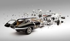Carros se Destroindo em Ultra Slow Motion #cars #photography