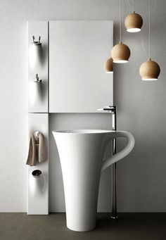70 Creative Bathroom Sinks #sinks #bathroom