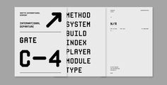 Mono RGO™ Pro #monospace #modular #typeface #typography #signage