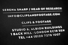 Clips & Footage by Holmkvist Creative and Face 37 #film #branding #typography