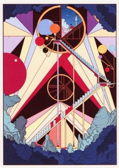Circle – Kilian Eng – Illustrators & Artists Agents – Début Art #killian #geometric #illustration #art #80s #cartoon #eng