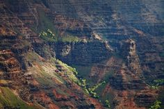 waimea canyon in Hawaii by Peter Clarke Photography Australia #waimea #canyon #landscape #mist #hawaii #moody #mountains