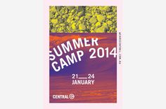 Central Youth #youth #event #poster #typography