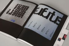 Unit Editions — TD 63-73 (Unit 03) Ã #design #graphic #grid #crouwel #wim
