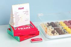 Lil Franz Promotional Setup #packaging #food #foodphotography #cake #houston
