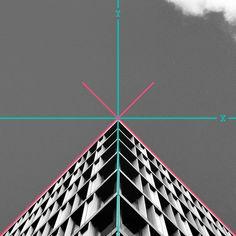 Geometry Club is a collaboration of precisely aligned architecture photographs from around the world.  Follow the project on Instagram @geom