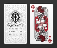 Boris Pelcer BUSINESS CARDS on Behance