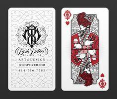 Boris Pelcer BUSINESS CARDS on Behance