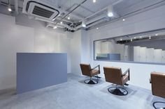 Hair Make C'ESTLAVIE by kräf•te #interior #design #hair #salon