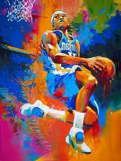 Basketball-by-Malcolm-Farley.jpg 341×455 pixels #malcolm #paint #awesome #farley